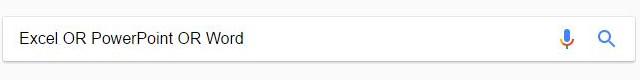 複数のキーワードのどれかを含む検索
